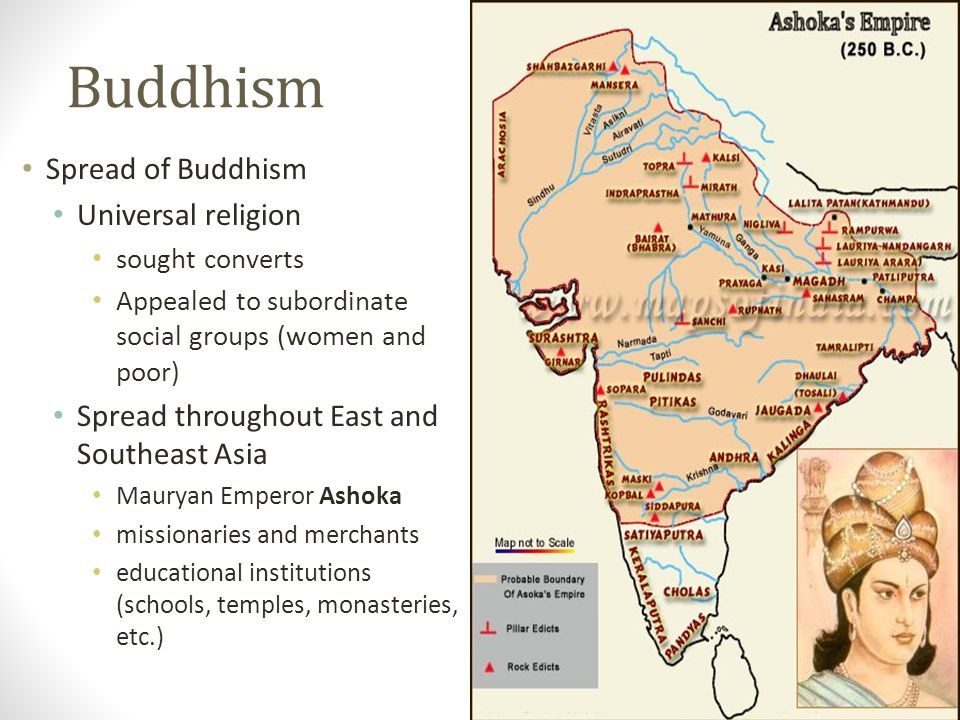 buddhism in east asia The birth and spread of buddhism  in 6th-century south asia,  which has become known as a heaven of the east.