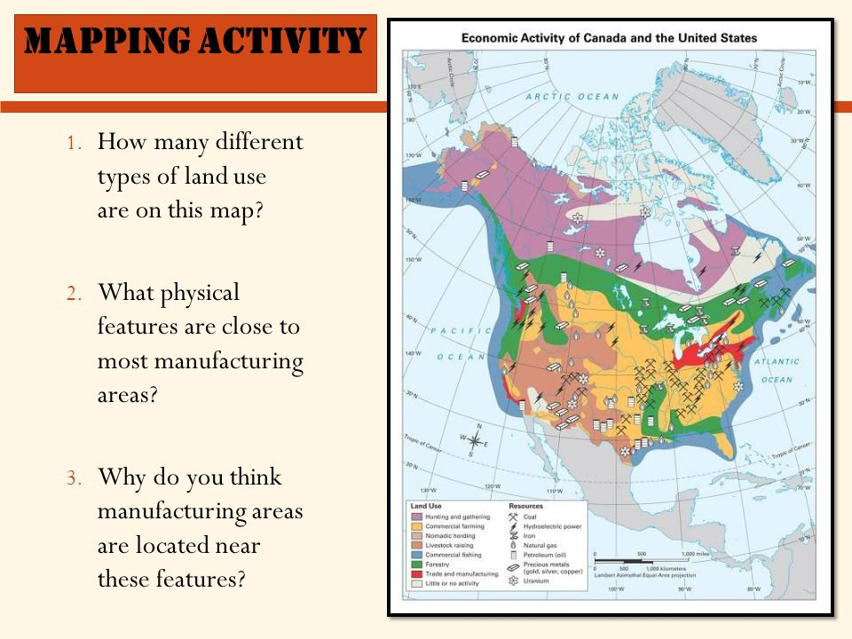 North America Geography And Physical Features Ppt Download - Physical features map of canada