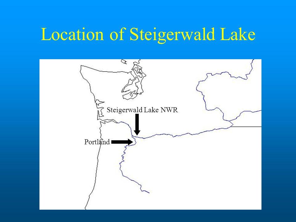 Location of Steigerwald Lake