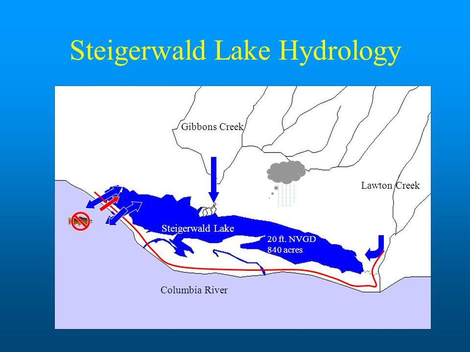 Steigerwald Lake Hydrology