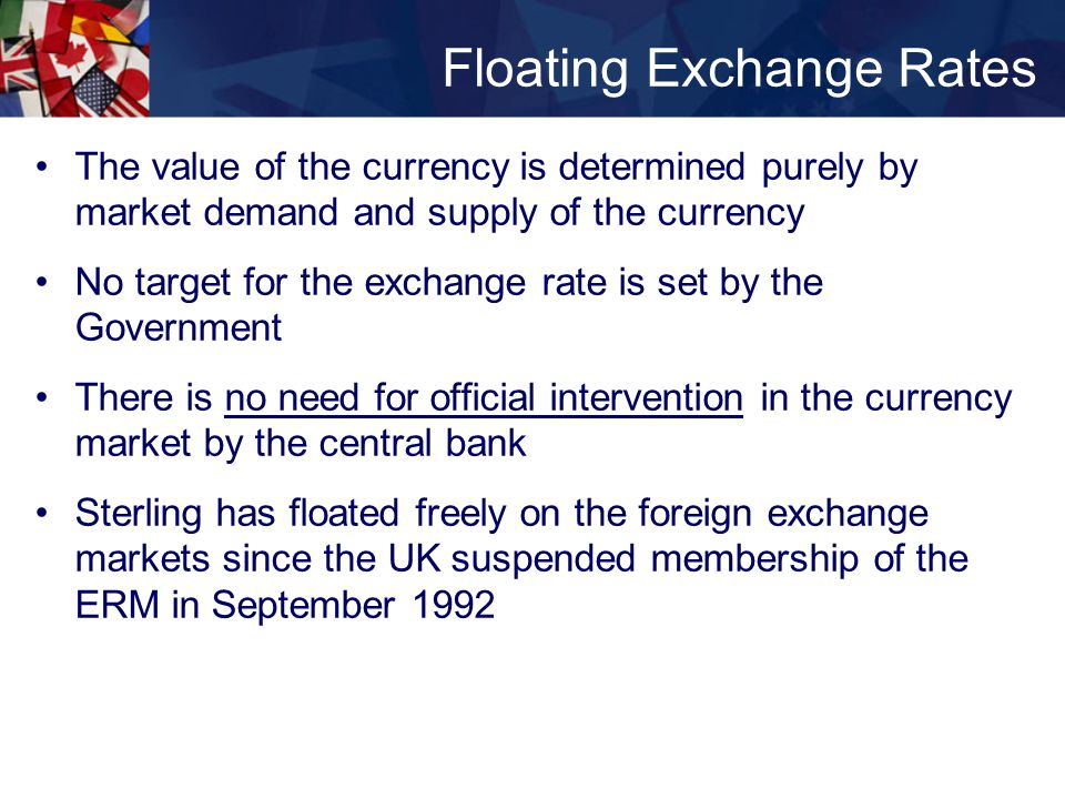 floating and fixed exchange rates Which countries use pegged and floating exchange rates  are fixed and floating exchange rate regimes both  if there is floating exchange rate system in a.