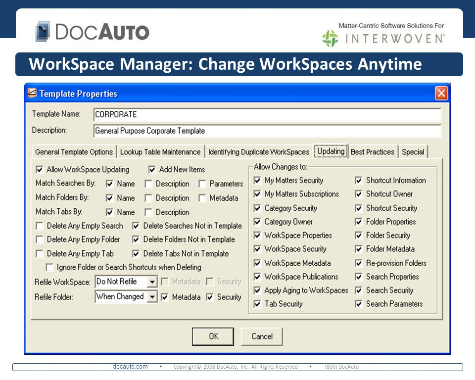 WorkSpace Manager: Change WorkSpaces Anytime