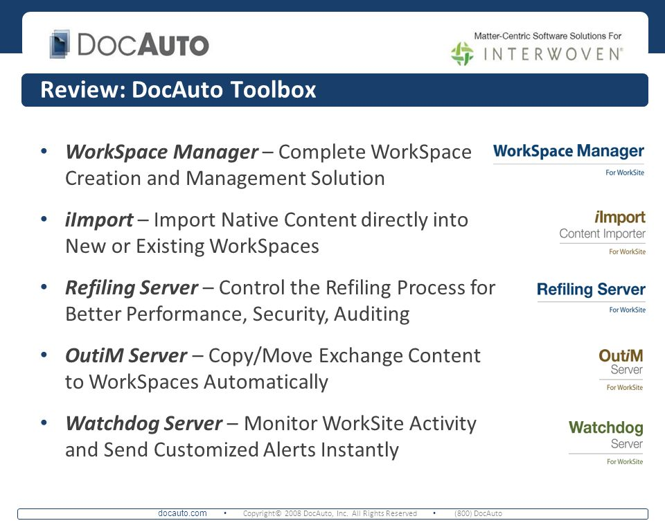 Review: DocAuto Toolbox