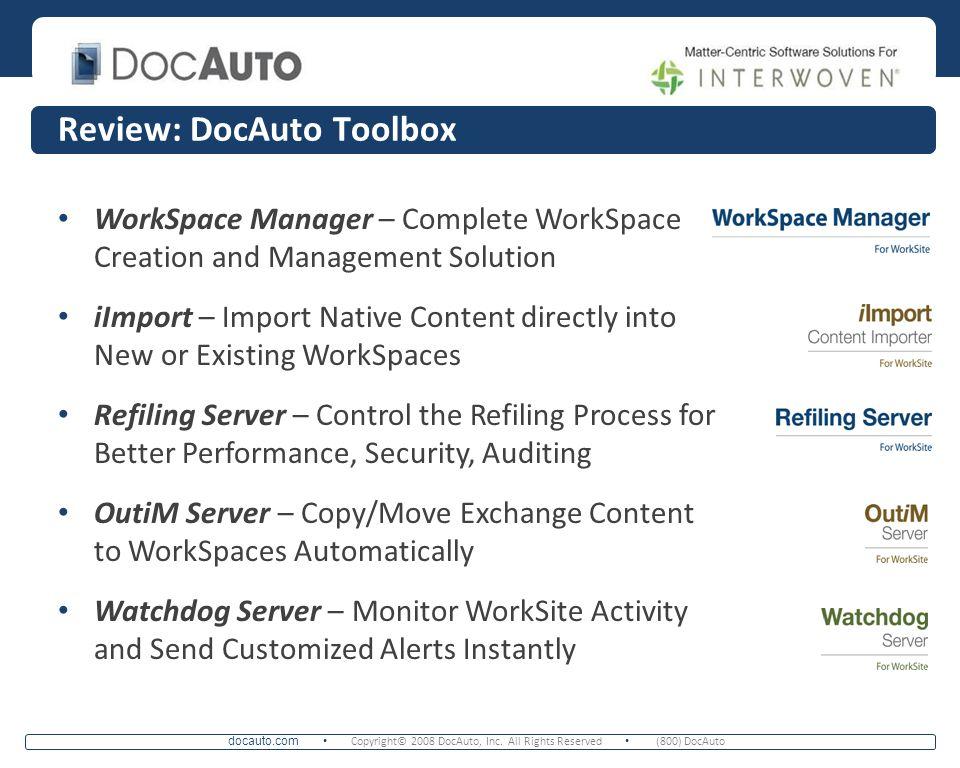 Review: DocAuto Toolbox