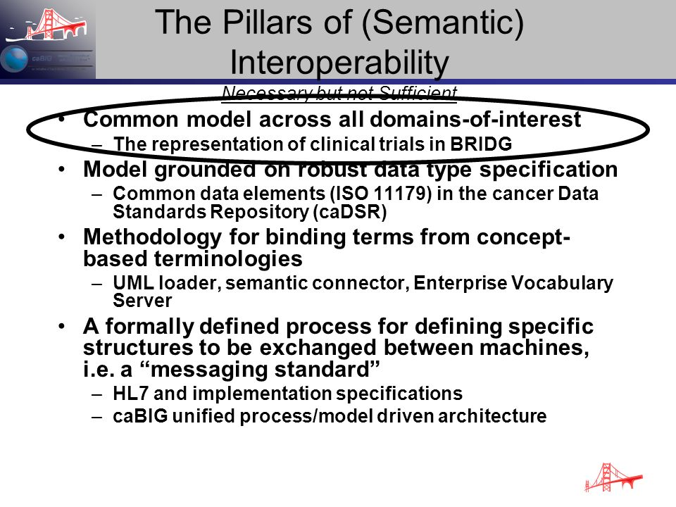 The Pillars of (Semantic) Interoperability Necessary but not Sufficient