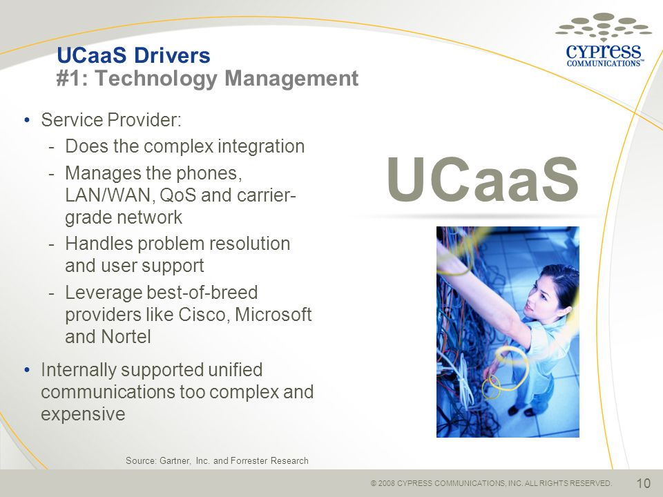 UCaaS Drivers #1: Technology Management