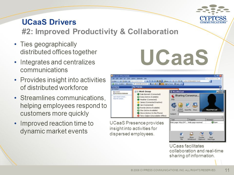 UCaaS Drivers #2: Improved Productivity & Collaboration