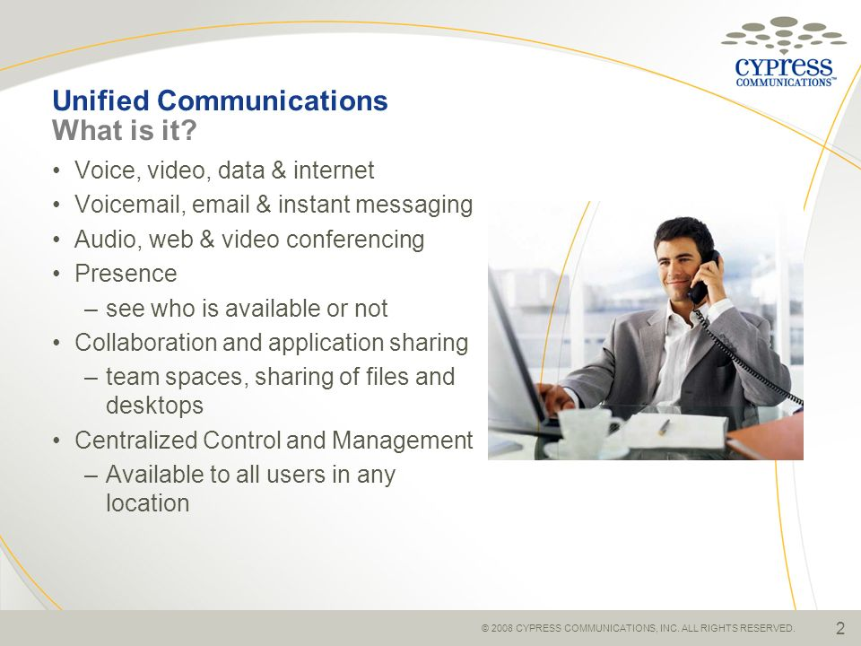 Unified Communications What is it