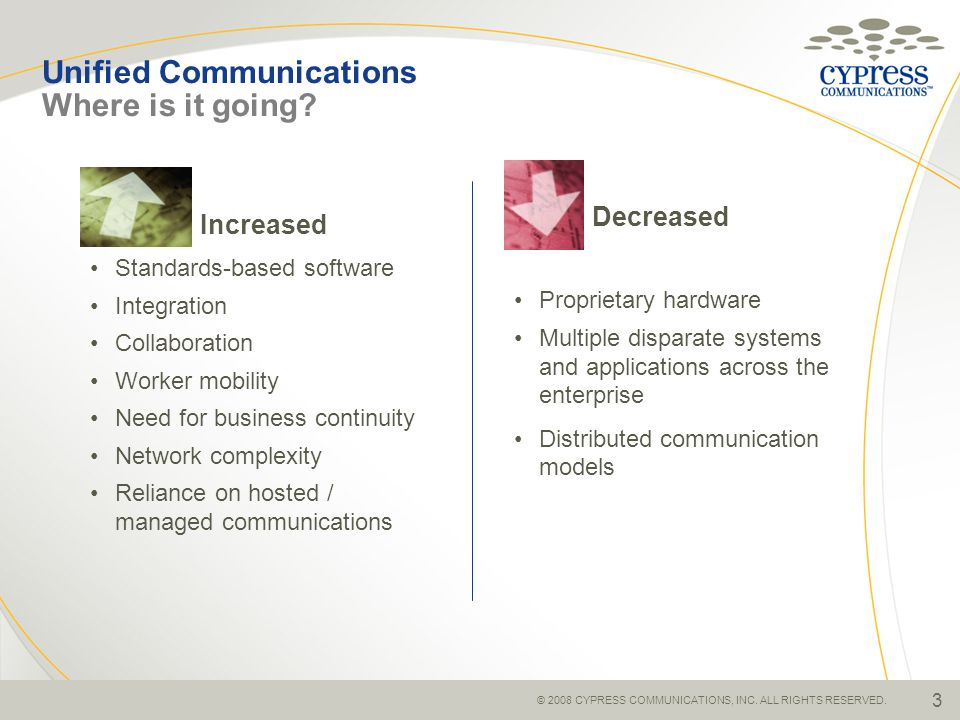 Unified Communications Where is it going