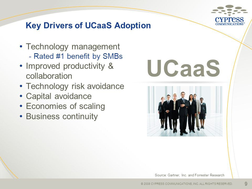 Key Drivers of UCaaS Adoption
