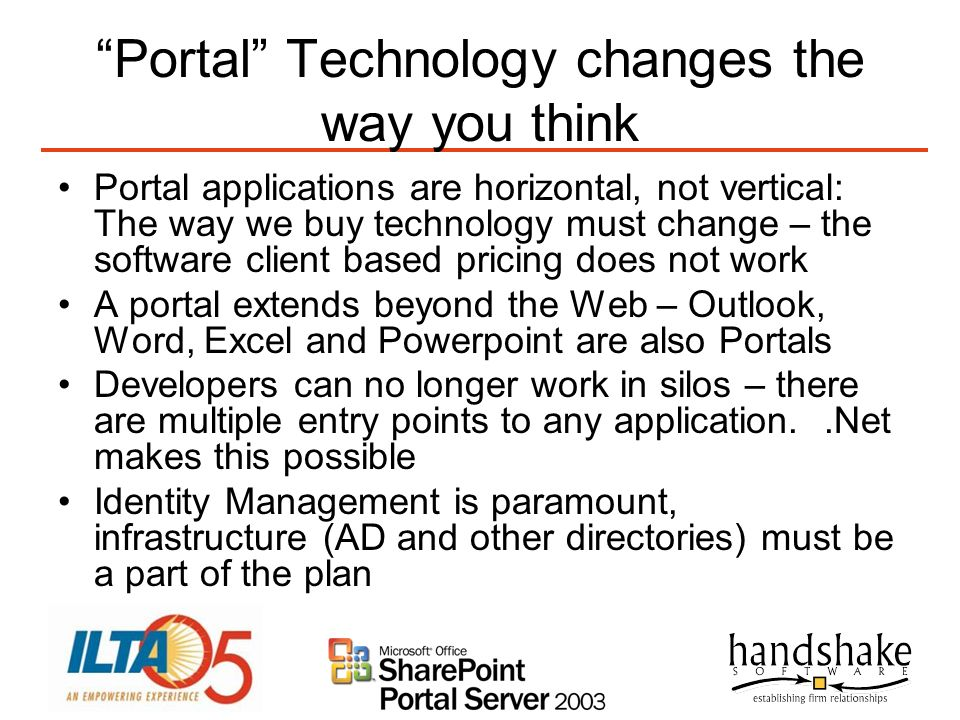 Portal Technology changes the way you think