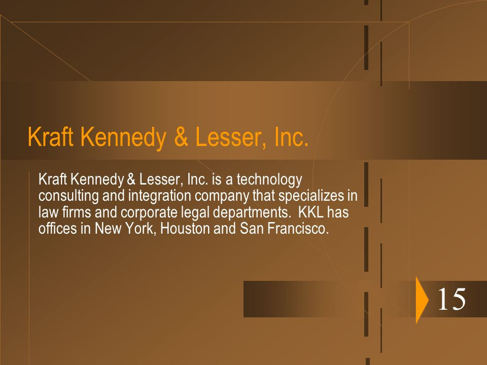 Kraft Kennedy & Lesser, Inc.