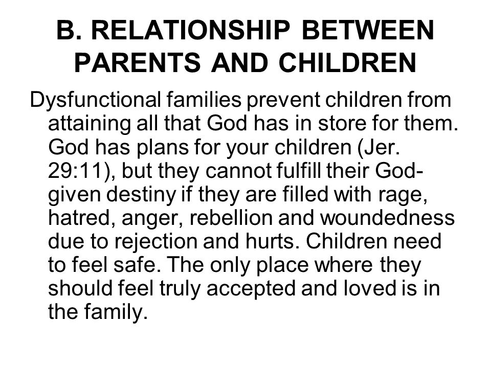 relations between parents and children essay Ielts writing task 2: 'parents and children serve to build up a closer relationship between parents and children a simple argumentative essay in.