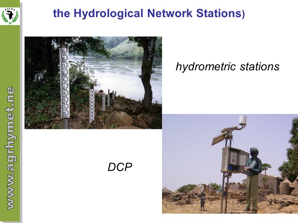 the Hydrological Network Stations)