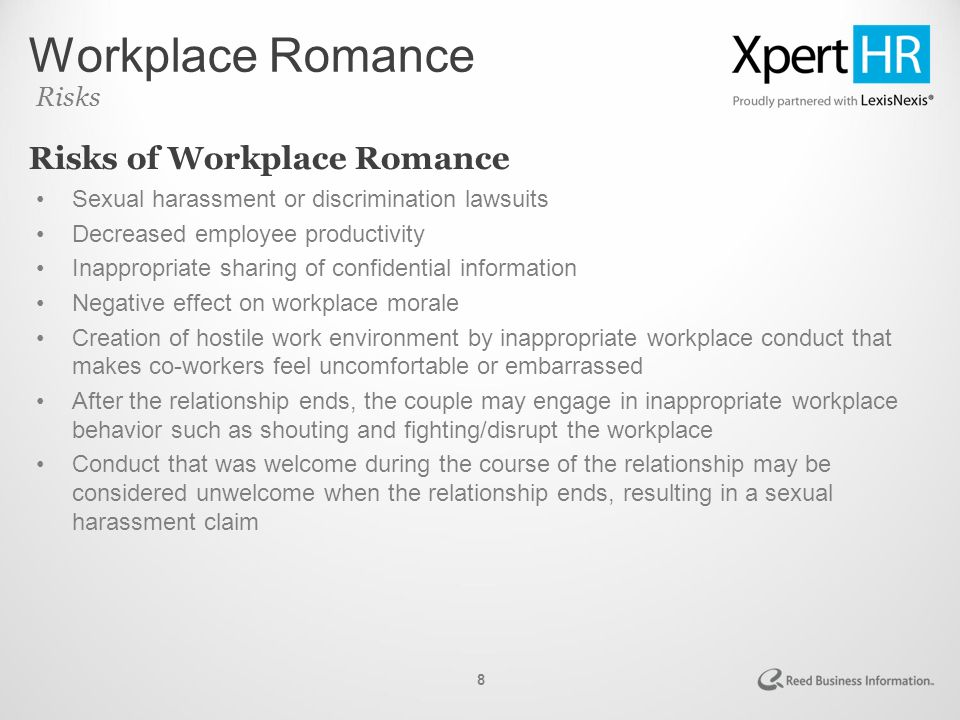 relationship in a workplace