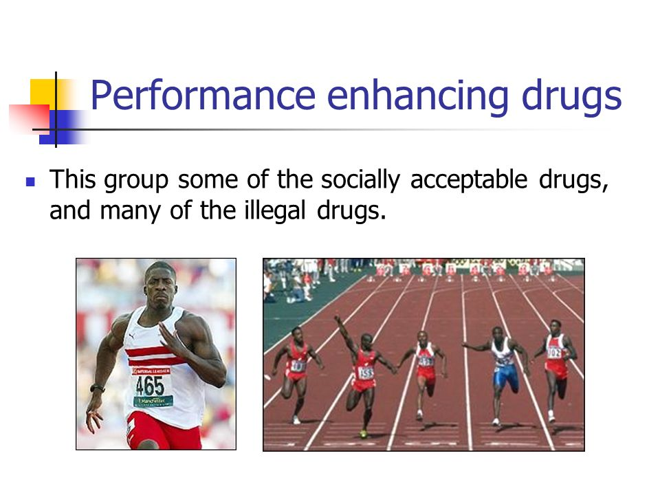 Effect of performance enhancing drugs