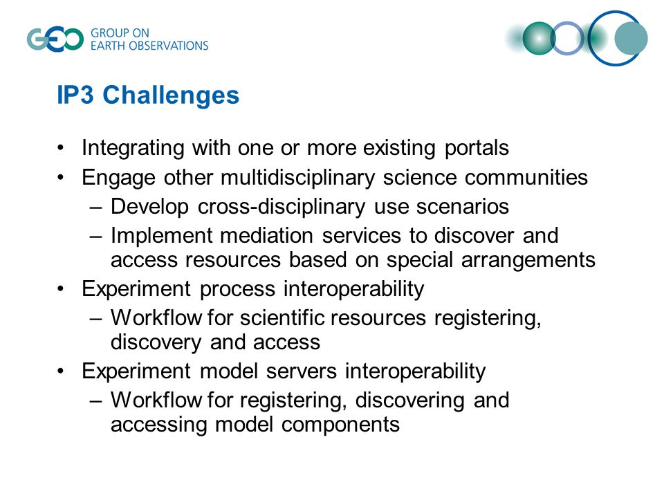 IP3 Challenges Integrating with one or more existing portals