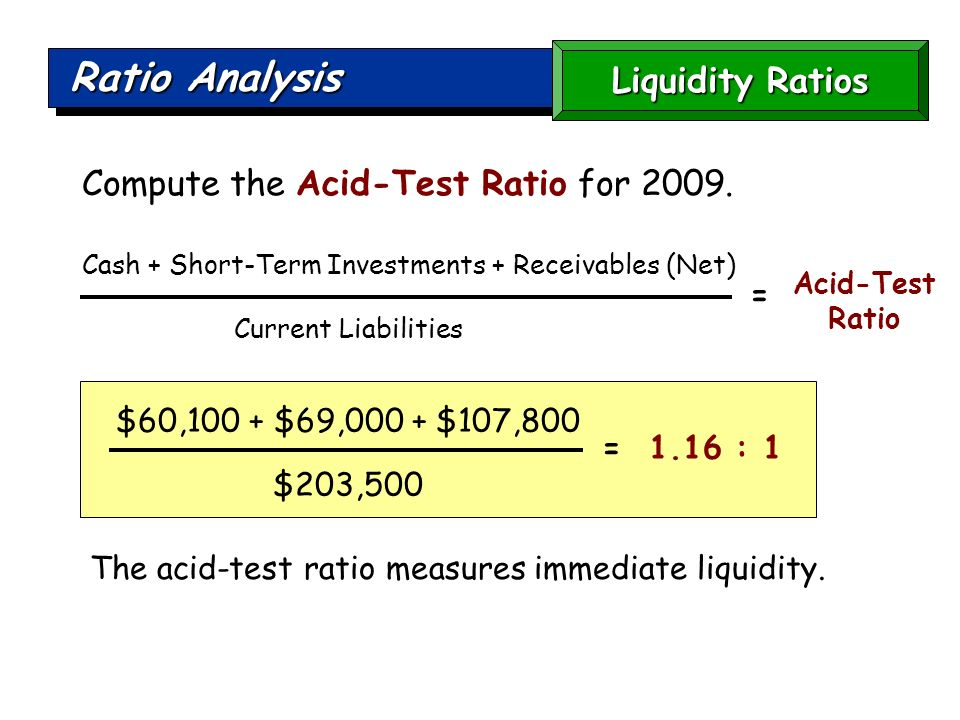current ratio analysis The most common liquidity ratios are the current ratio — current,  ratio analysis & variance analysis in managerial accounting bizfluent, https:.