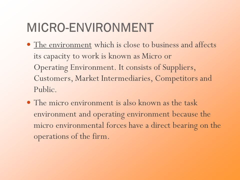 Micro Environment of Business: 6 Factors of Micro Environment of Business