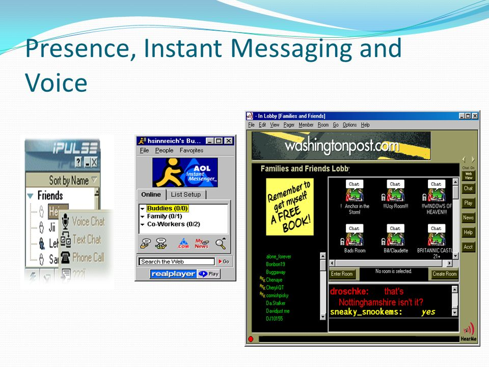 Instant Messaging And Texting : Support services ip multimedia subsystem ims ppt