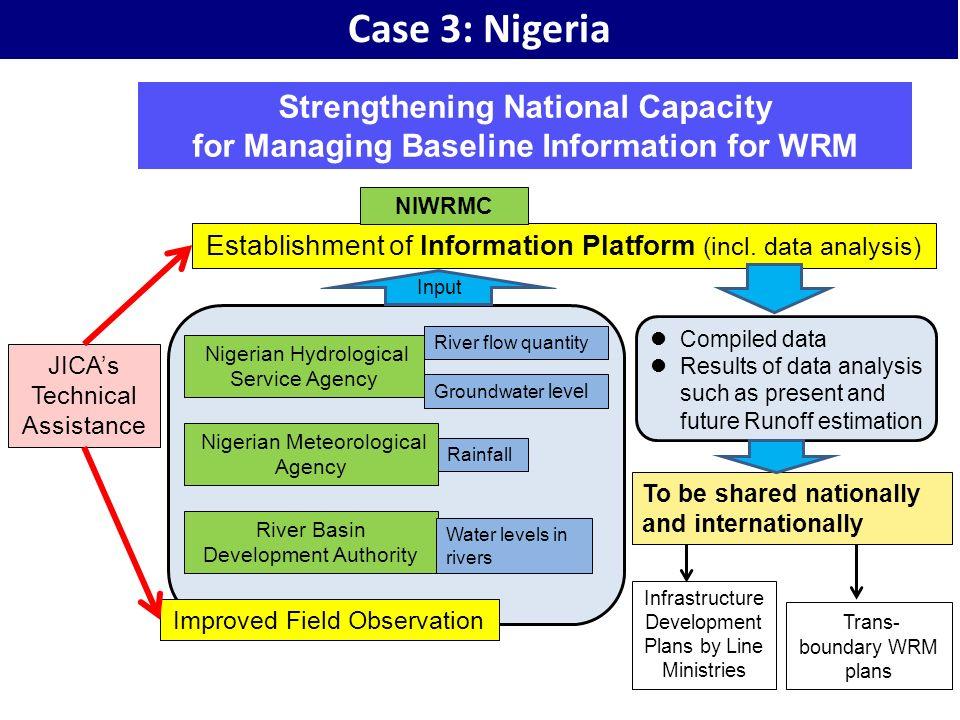 Case 3: Nigeria Strengthening National Capacity
