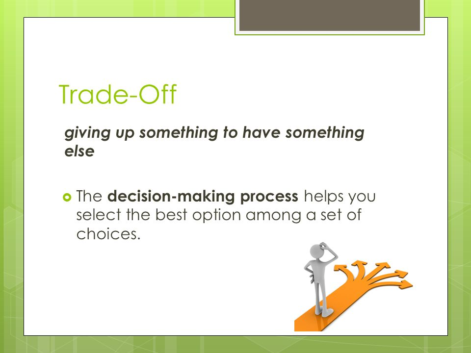 Give-up options trading
