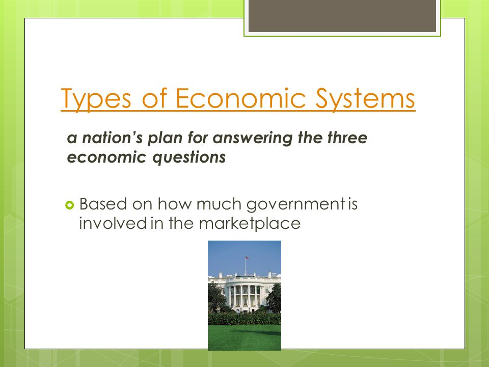 types of economic planning The idea of 'economic planning' was a central theme of the radical economic policy debate in the 1930s born of the inter-war economic crisis, the call for the reconstruction of the economy according to a 'plan' of one kind or another spanned practically the entire spectrum of the politics of the day.