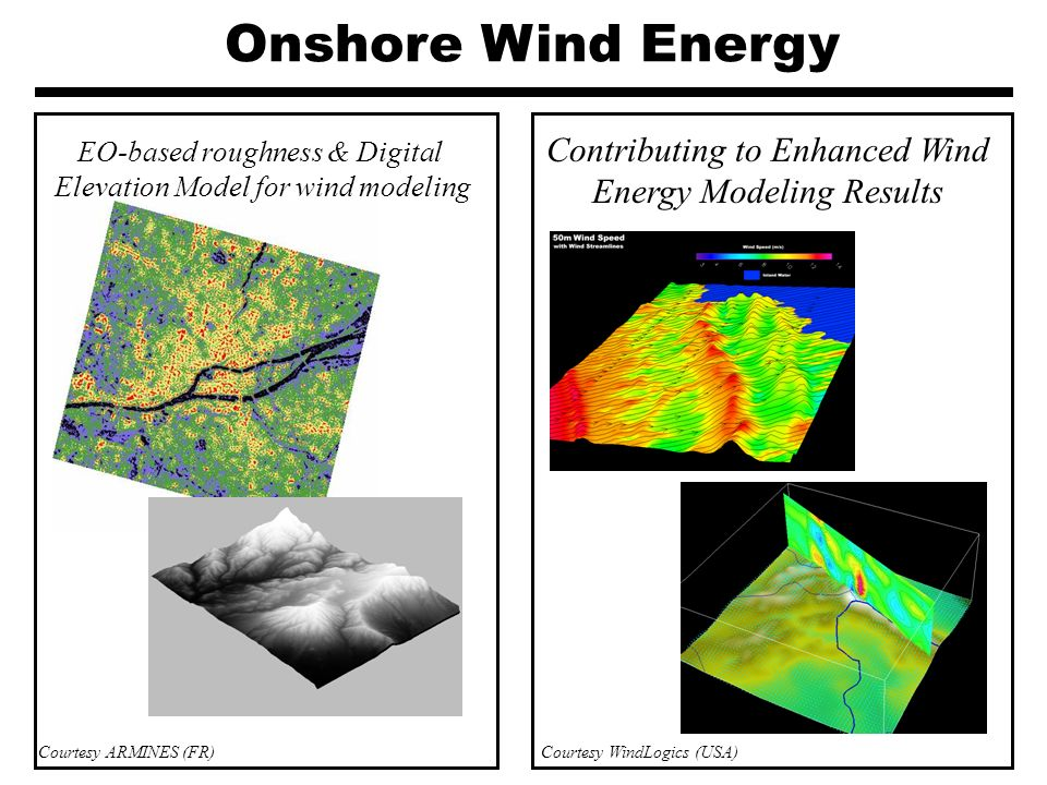 Onshore Wind Energy EO-based roughness & Digital. Elevation Model for wind modeling. Contributing to Enhanced Wind Energy Modeling Results.