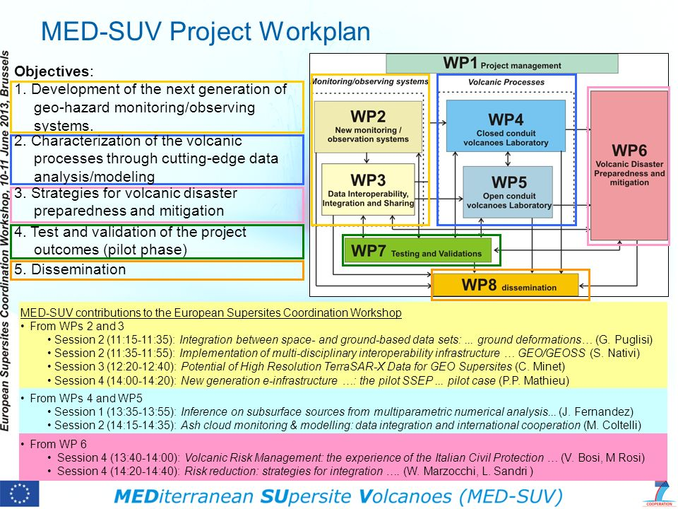 MED-SUV Project Workplan