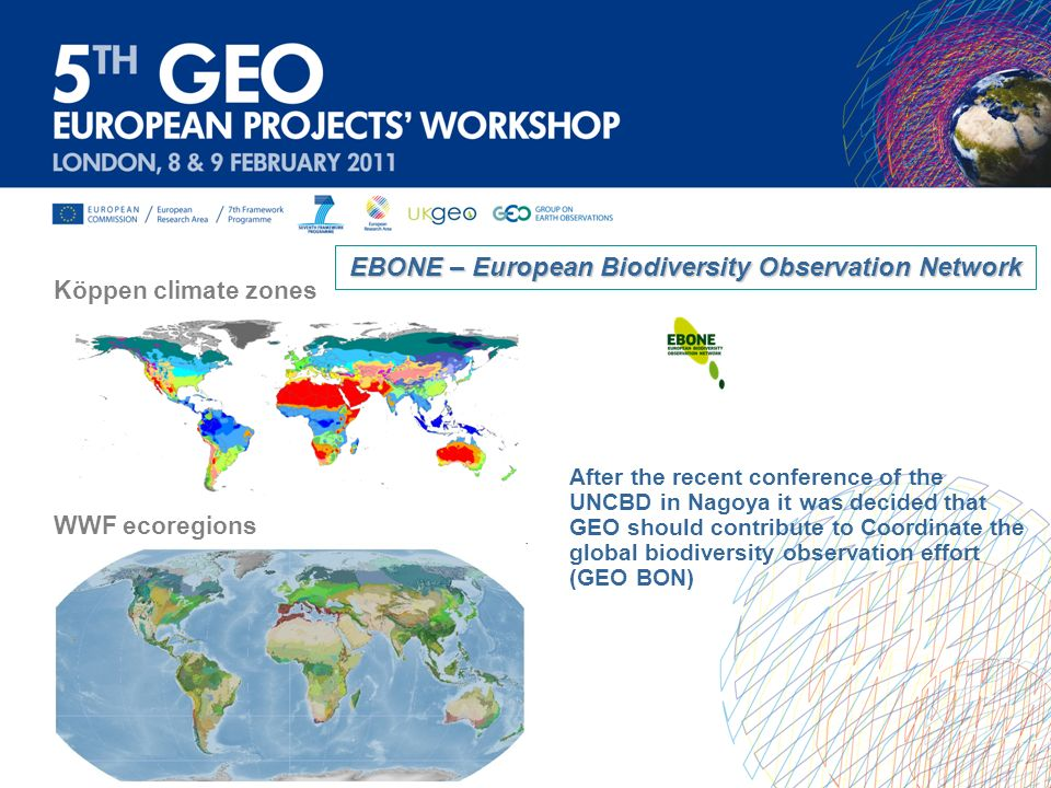 EBONE – European Biodiversity Observation Network