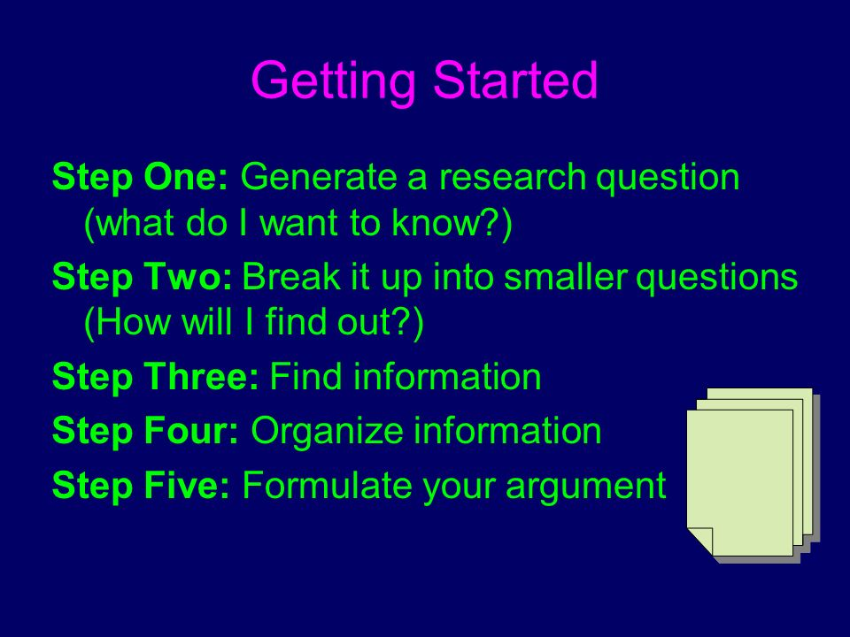 how to write a paper a p a format ppt