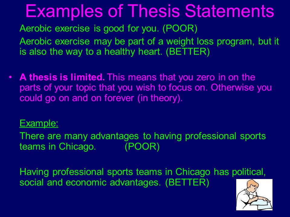 exercise science thesis statements Free exercise thesis papers, essays, and research papers.
