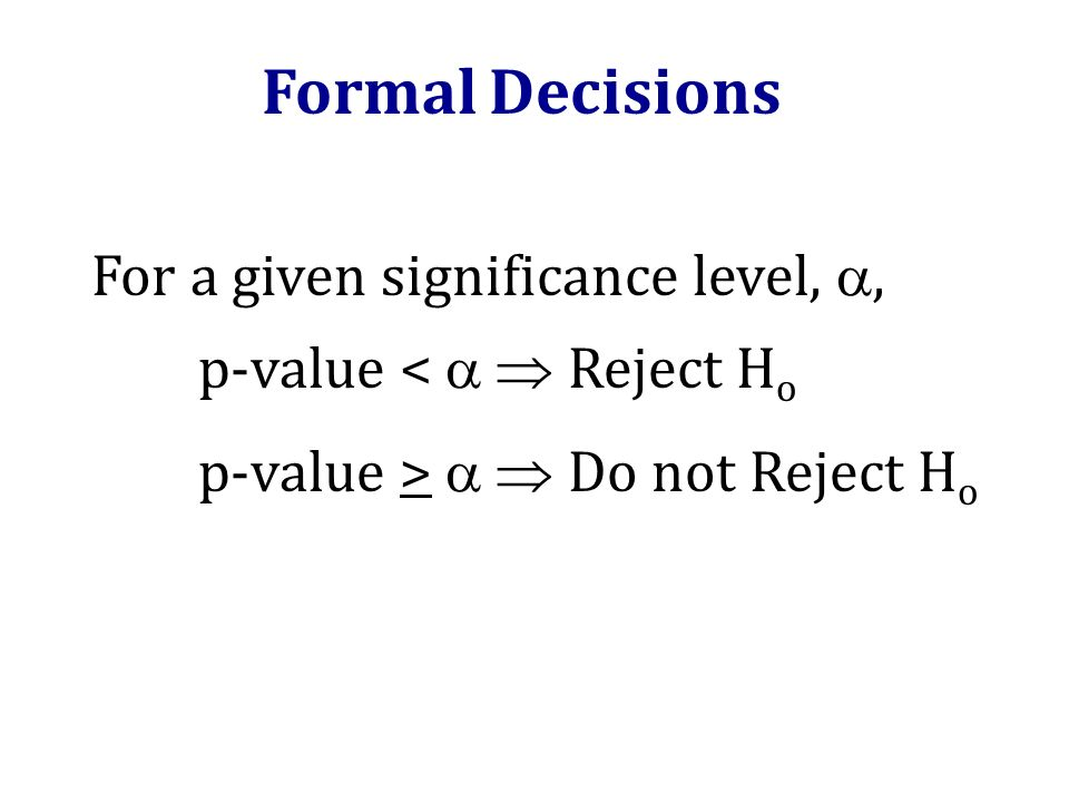 how to choose a significance level