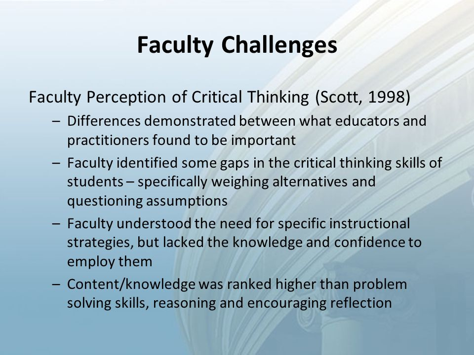what are some obstacles to effective critical thinking Zaid ali alsagoff , founder & ceo, aql learning innovation consultancy keynote author follow published on aug 1, 2007 barriers to critical thinking published in: technology, education license: cc attribution-noncommercial- sharealike license 69 comments 527 likes statistics notes full name comment.