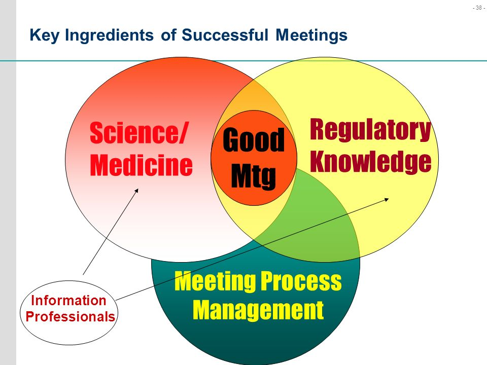 Key Ingredients of Successful Meetings