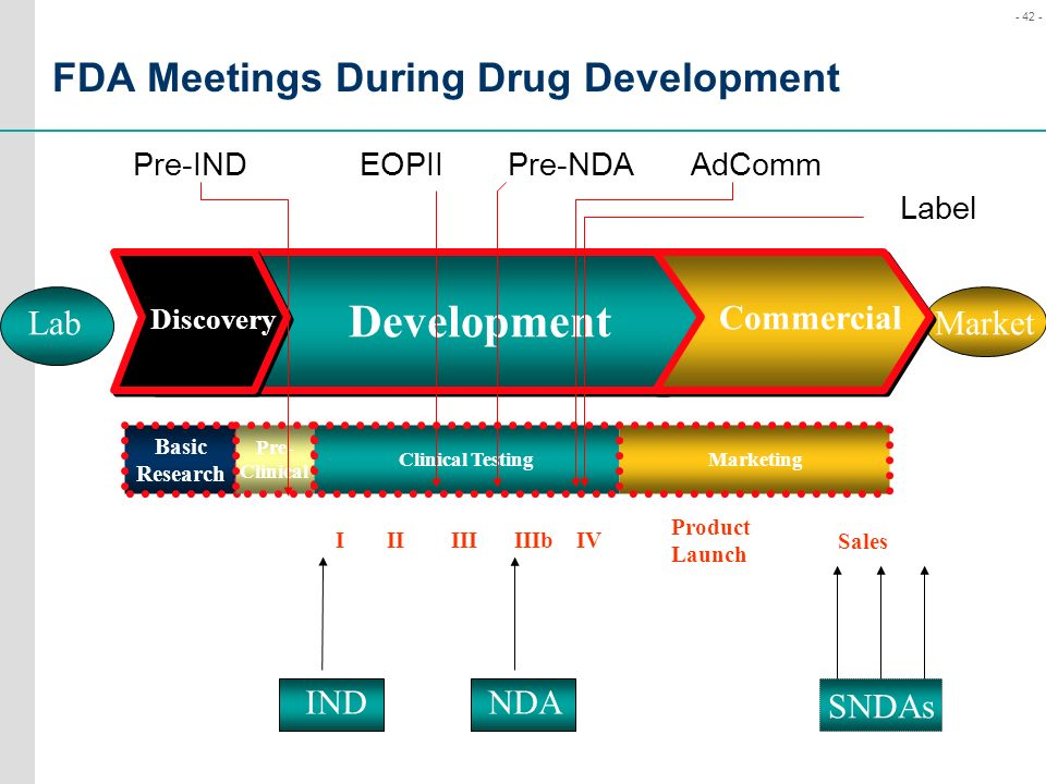 FDA Meetings During Drug Development