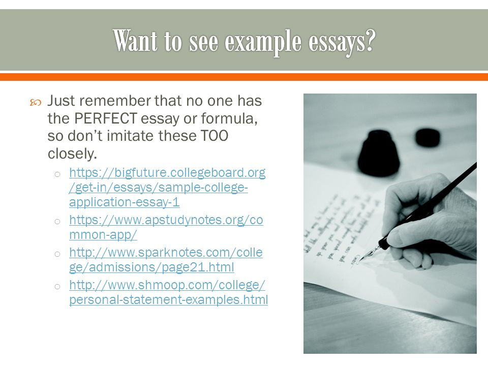 College board essay examples