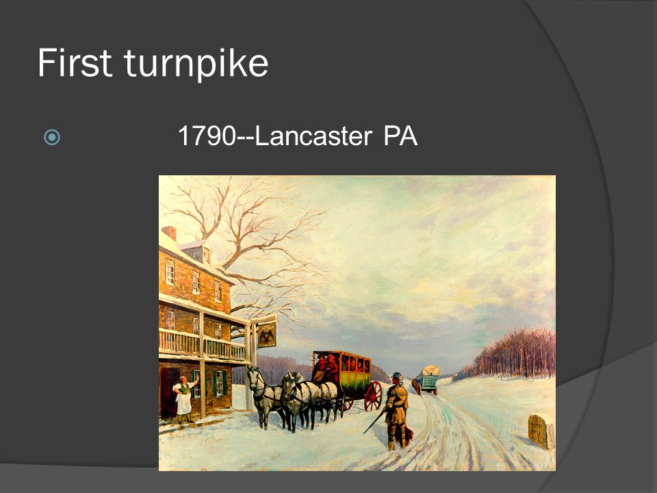 First turnpike Lancaster PA