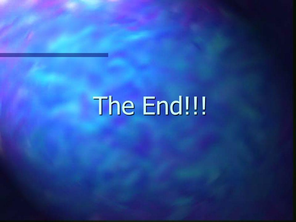 The End!!!