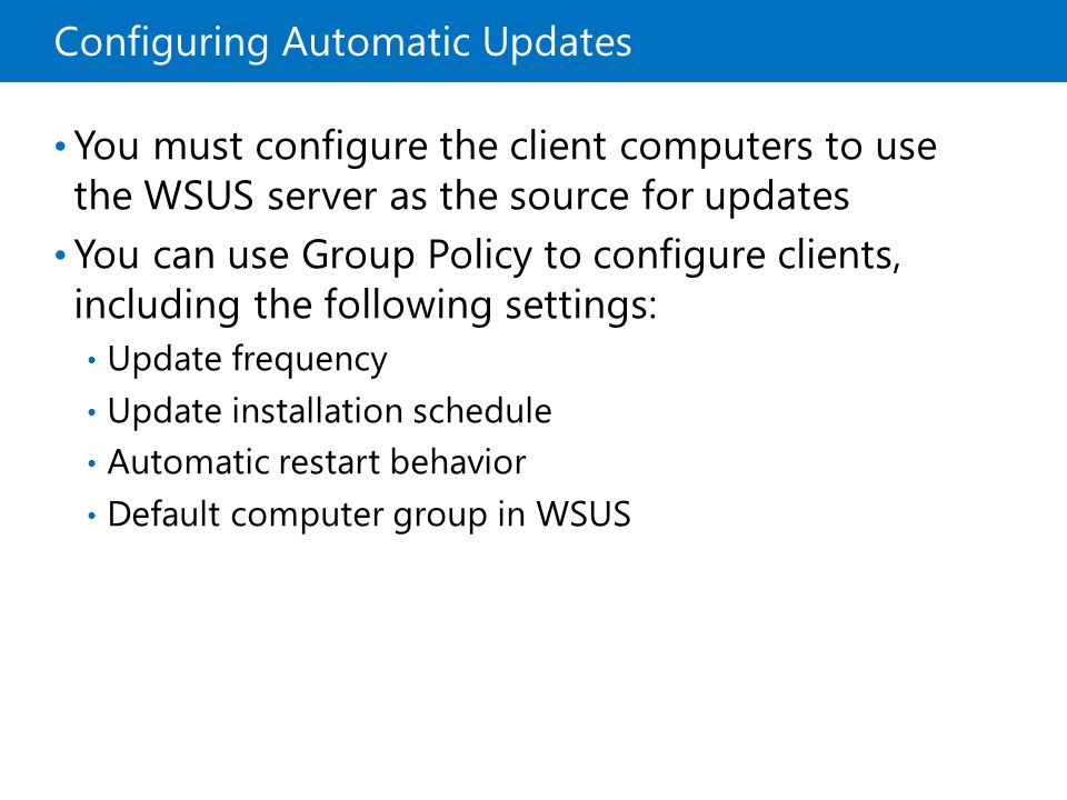 how to add client computer in wsus server