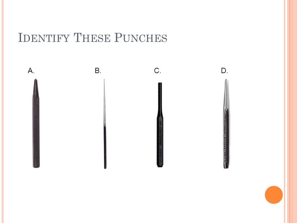 Identify These Punches