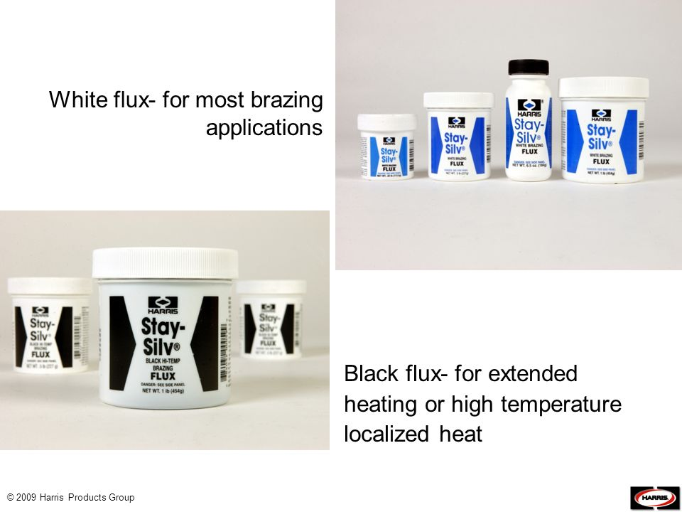 White flux- for most brazing applications