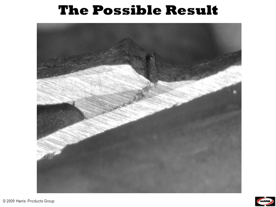 The Possible Result © 2009 Harris Products Group