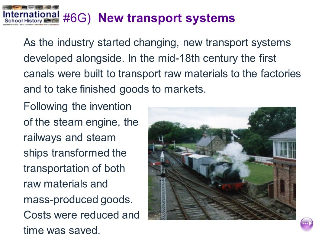 #6G) New transport systems