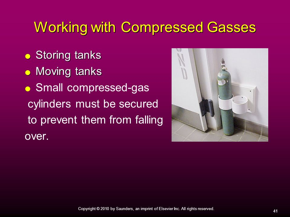 Working with Compressed Gasses