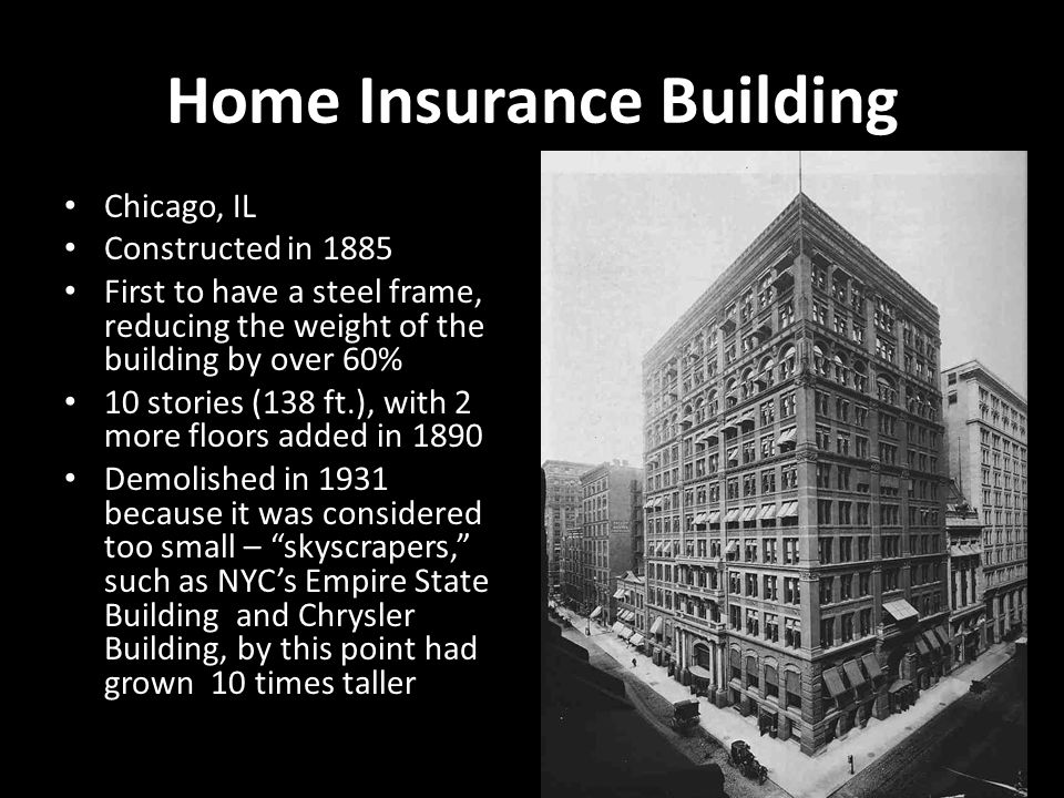 The age of invention ppt video online download for Homeowners insurance for new construction