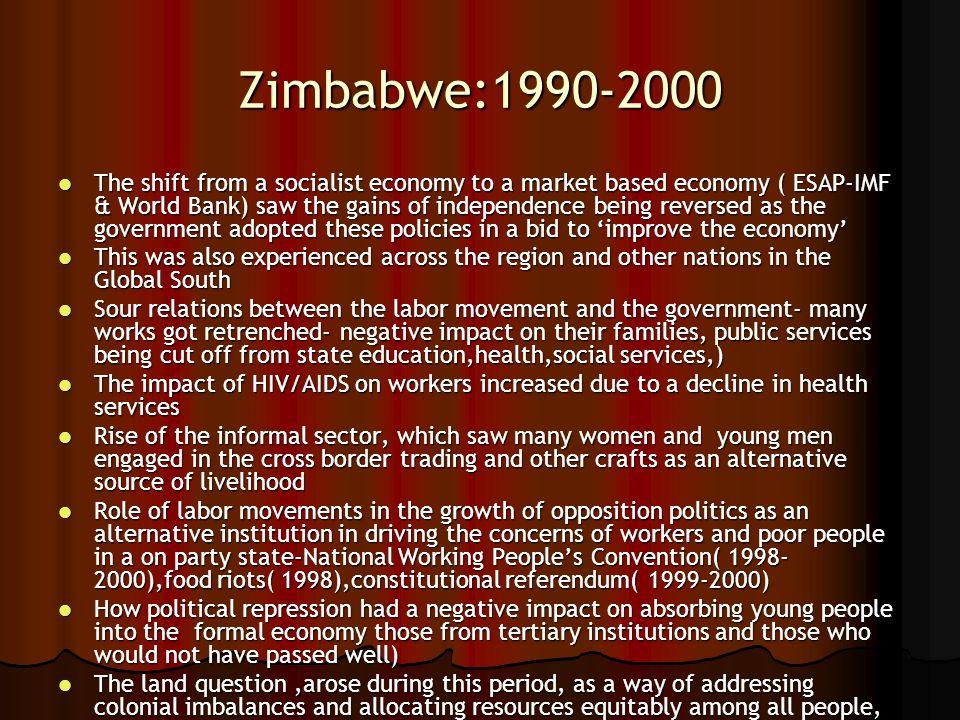 Zimbabwe:1990-2000