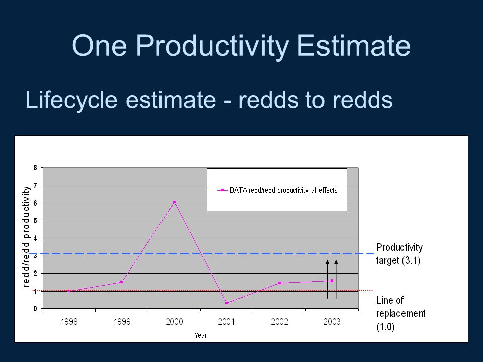 One Productivity Estimate
