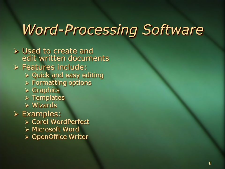 applications software ppt download