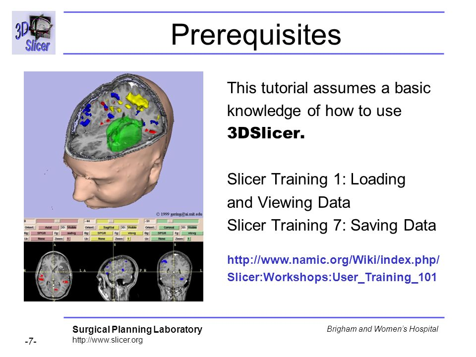 Prerequisites This tutorial assumes a basic knowledge of how to use